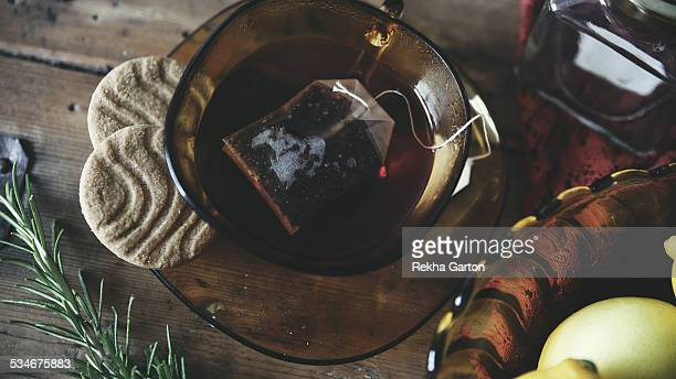 herbal tea still life - rekha garton stock pictures, royalty-free photos & images