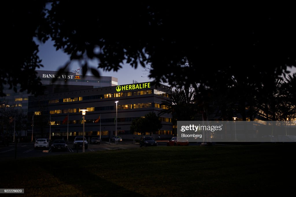 Herbalife Plaza And Headquarters Ahead Of Earnings Figures