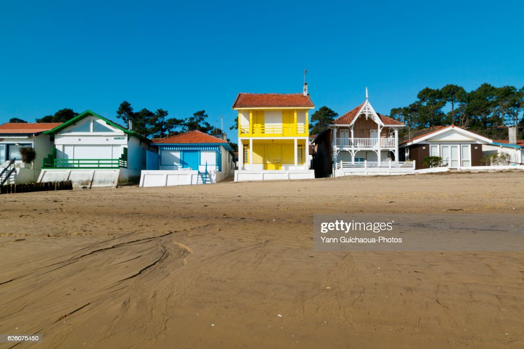 L'Herbe, Arcachon Bay, Gironde Aquitaine, France : Stock Photo