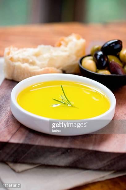 Kräuter-Olivenöl
