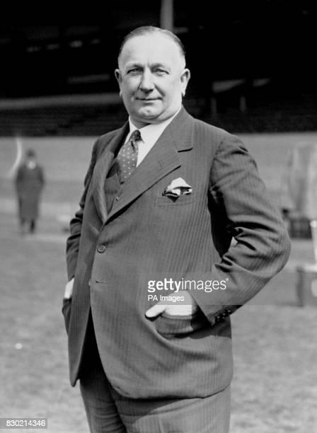 Herbert Chapman Arsenal Football Club manager 1932