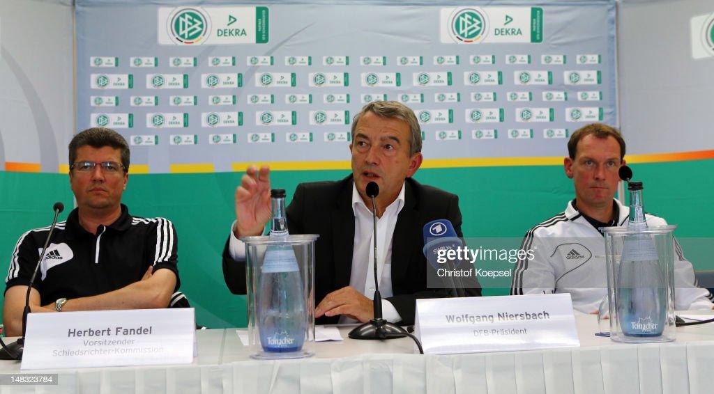 DFB Referee Meeting 2012