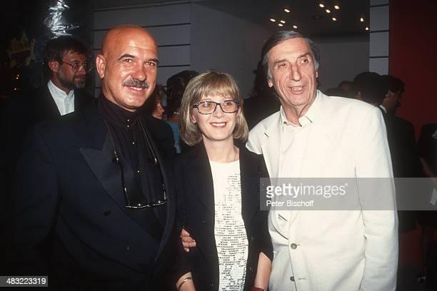 """Herbert Fux, Ehefrau Edith und Otto W. Retzer , 3. """"Rouge & Noir Filmfest"""" am , Casino, Velden, Kärnten, Österreich."""
