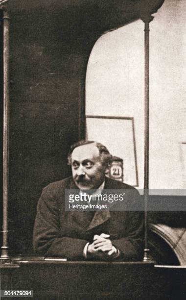 Herbert Gladstone in the witness box at the trial of Emmeline Pankhurst and others, London, 1908. Herbert Gladstone , Home Secretary at the time, was...