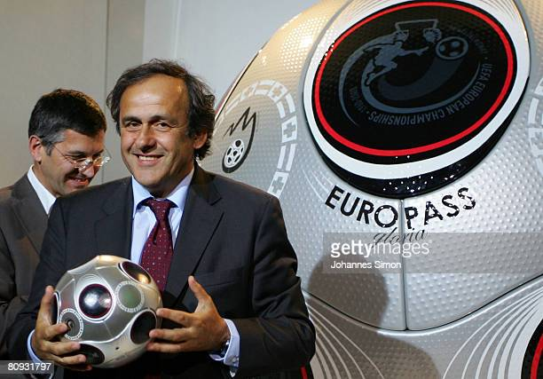 49 Adidas Launch Europass Ball For The Uefa Euro 2008 Final