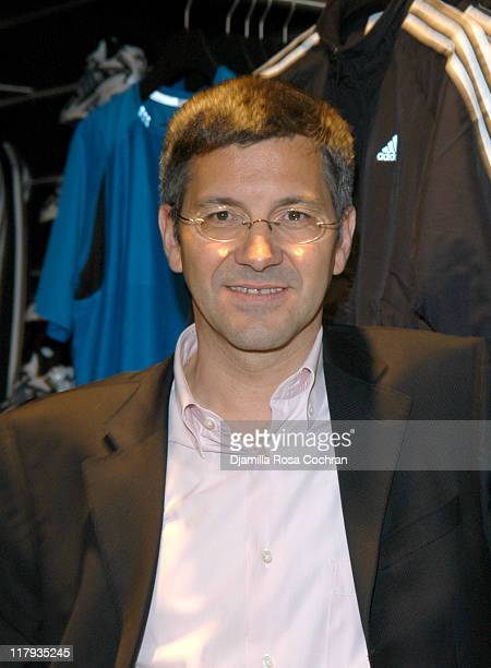 Herbert Hainer during Opening of the World's Largest Adidas Sport Performance Store in the World at Adidas Soho Store in New York City New York...