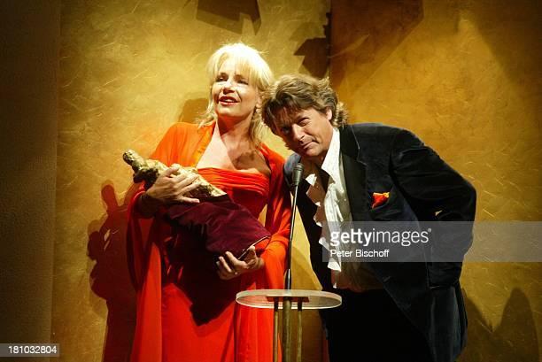 """Herbert Herrmann , Lebensgefährtin Nora von Collande, Theaterstück: """"Das glückliche Paar"""", Komödie, Fotoprobe, Berlin, Deutschland,..."""