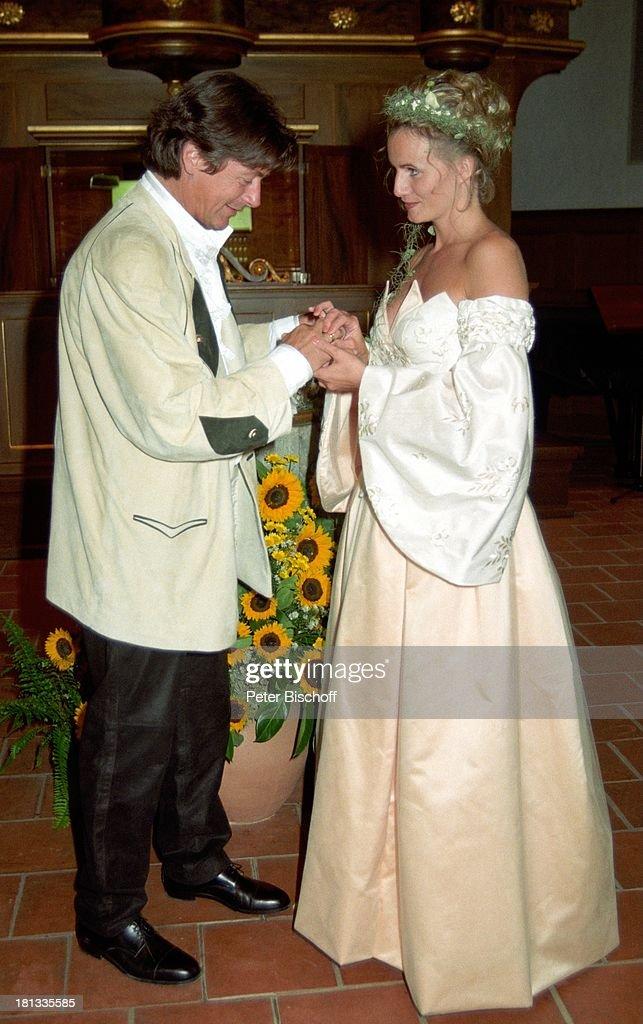 Herbert Herrmann mit Ehefrau Karin, geb. Gustke, Hochzeit, Grind ...