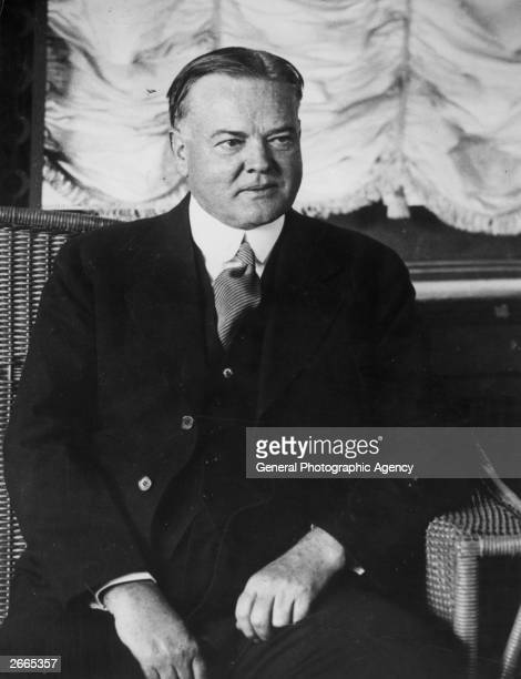 Herbert Hoover , 31st President of the United States from 1928 to 1932.