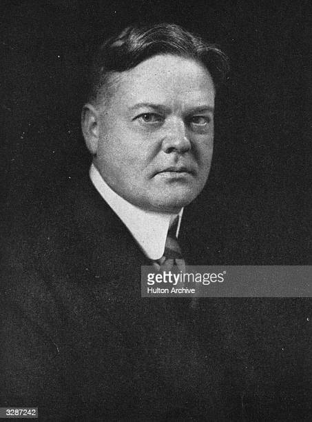 Herbert Hoover later the 31st President of the United States