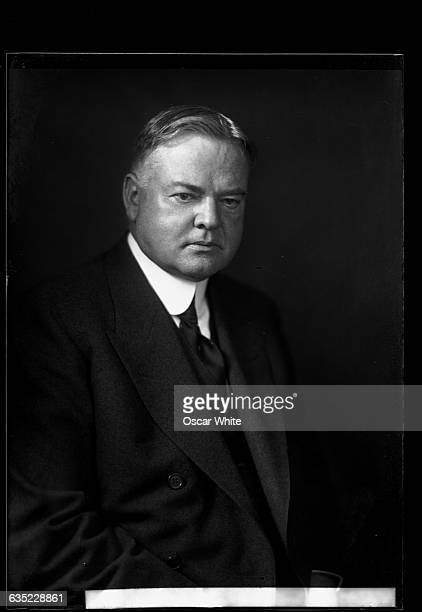 Herbert Hoover the 31st president of the United States was president at the time of the October 1929 stock market crash which precipitated the Great...