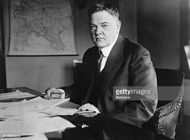 Herbert Hoover's reputation was made as the food administrator for Europe at the end of World War I when he avoided massive starvation of the...