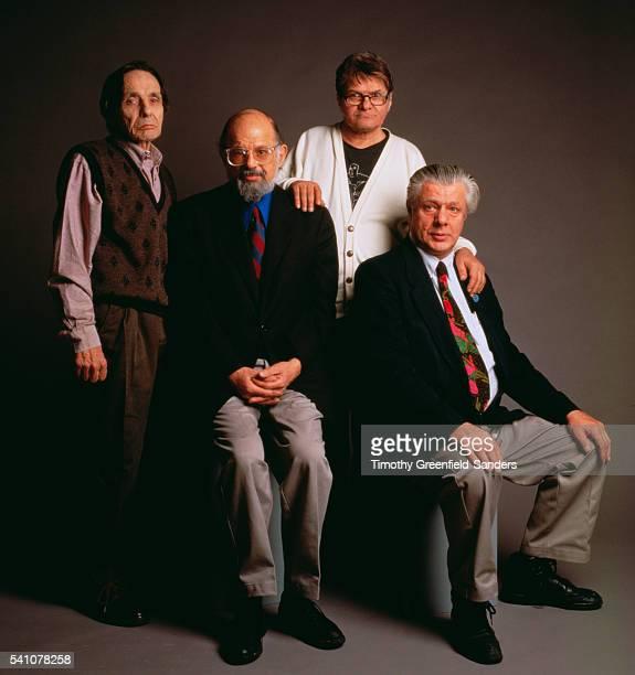Herbert Huncke Allen Ginsberg Gregory Corso and Peter Orlowski