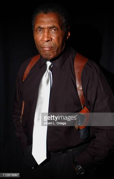 """Herbert Jefferson Jr. During Photo Session with Actor Herbert Jefferson Jr. Of the Classic """"Battlestar Galactica"""" at WireImage Studios in Hollywood,..."""