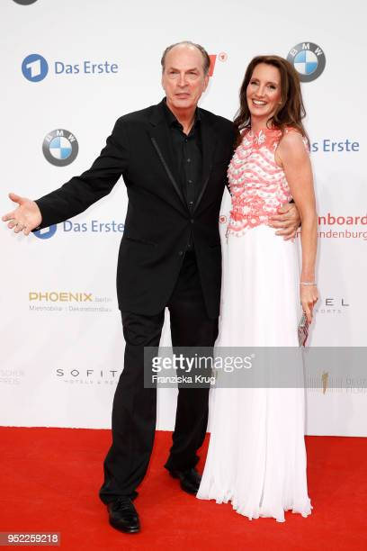 Herbert Knaup and Christiane Knaup attend the Lola German Film Award red carpet at Messe Berlin on April 27 2018 in Berlin Germany