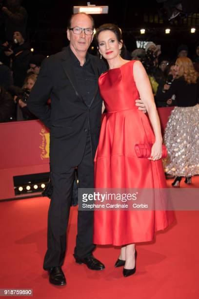 Herbert Knaup and his wife Christiane Lehrmann attend the Opening Ceremony 'Isle of Dogs' premiere during the 68th Berlinale International Film...