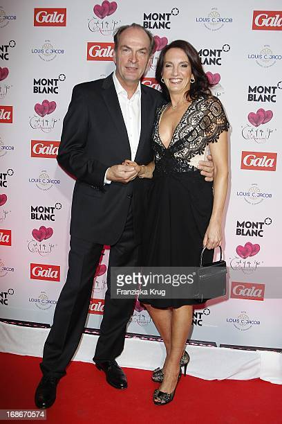 Herbert Knaup and wife Christiane In Ceremony Of The Couple Of The Year Of The magazine Gala And The Montblanc company in the Hotel Louis C Jacob in...