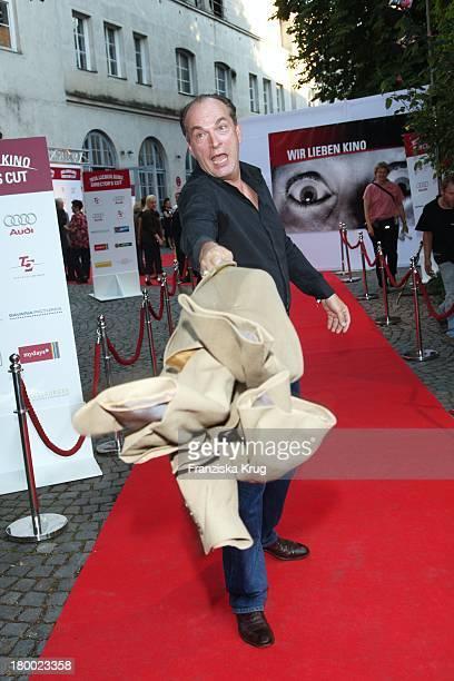 Herbert Knaup Bei Wir Lieben Kino Director'S Cut Party Auf Der Praterinsel In München Am 210608