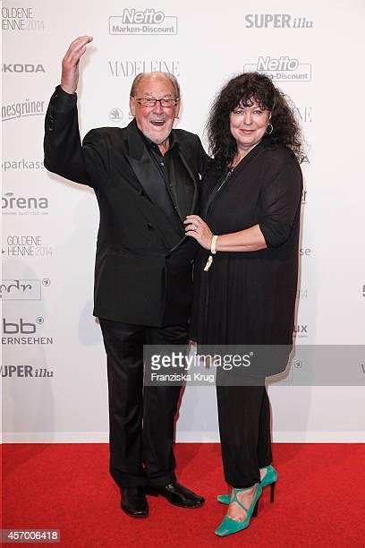 Herbert Koefer and Heike Koefer attend Madeleine at Goldene Henne 2014 on October 10 2014 in Leipzig Germany