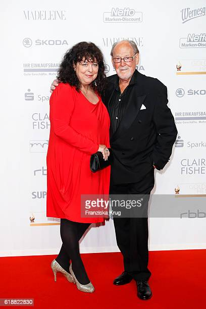 Herbert Koefer and Heike Koefer attend the Goldene Henne on October 28 2016 in Leipzig Germany