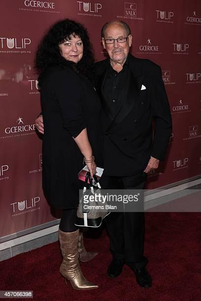 Herbert Koefer and Heike Koefer attend the TULIP Gala 2014 at Van der Valk Hotel Berlin Brandenburg on October 11 2014 in BlankenfeldeMahlow near...