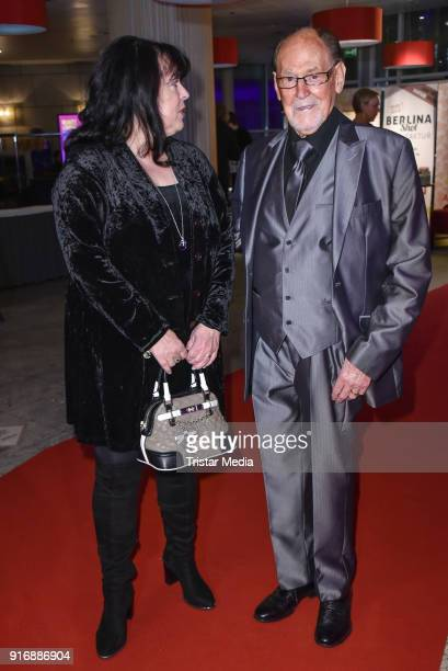 Herbert Koefer and his wife Heike Knochee attend the 18th Brandenburg Ball on February 10 2018 in Potsdam Germany