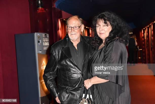 Herbert Koefer and his wife Heike Knochee attend the 'Frau Luna' premiere on January 11 2018 in Berlin Germany