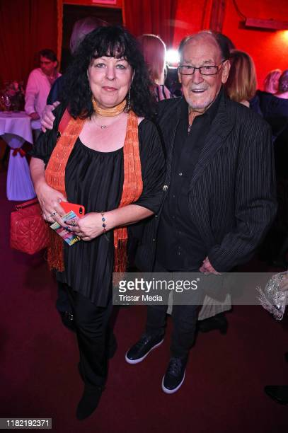 Herbert Koefer and his wife Heike Knochee attend the Palazzo gala premiere at PalazzoSpiegelpalast on November 13 2019 in Berlin Germany