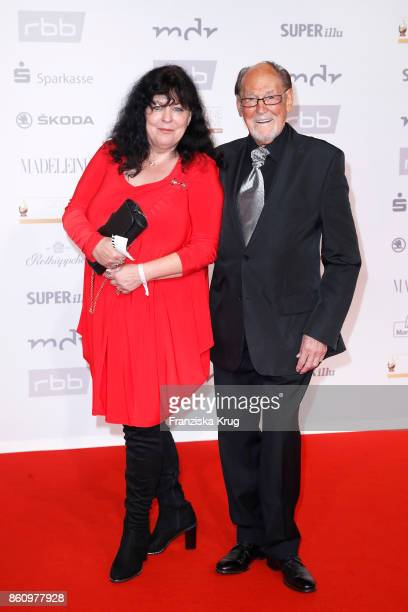 Herbert Koefer and his wife Heike Koefer attend the Goldene Henne on October 13 2017 in Leipzig Germany