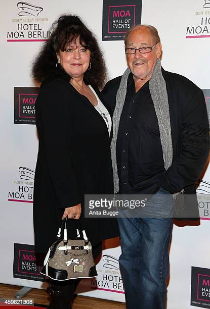 Herbert Koefer and his wife Heike Koefer attend the 'Smago Award 2014' at MOA hotel on November 26 2014 in Berlin Germany