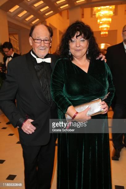 Herbert Koefer and his wife Heike Koefer during the 68th Bundespresseball at Hotel Adlon on November 29 2019 in Berlin Germany