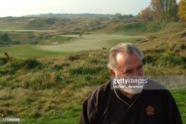 Herbert Kohler president and chairman of the Kohler Company on the golf course October 9 2003