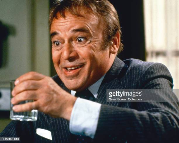 Herbert Lom Czech actor holding a drinking glass in a publicity still issued for the film '99 Women' 1969 The prison drama directed by Jesus Franco...