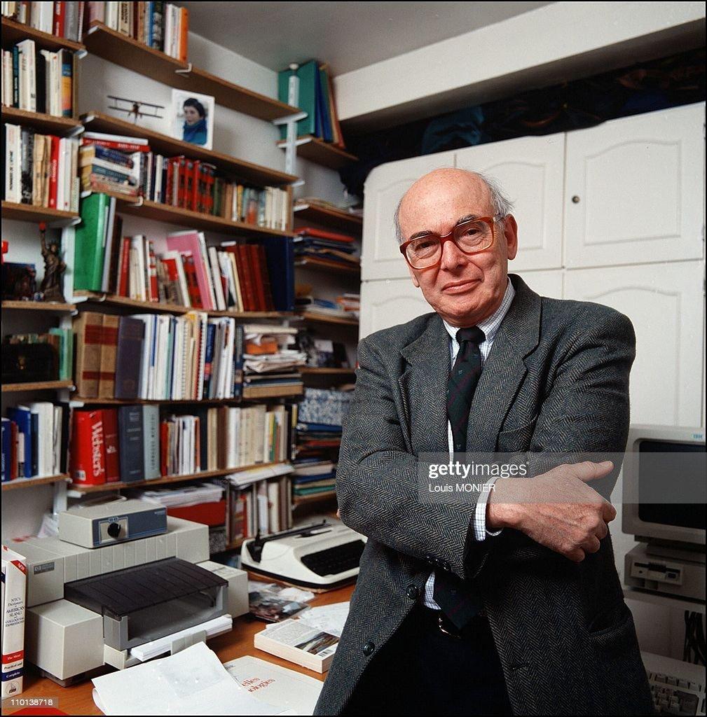 Herbert Lottman in France on August 10, 2001.