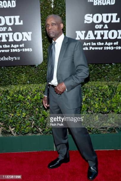 Herbert Randall attends The Broad Museum celebration for the opening of Soul Of A Nation Art in the Age of Black Power 19631983 Art Exhibition at The...