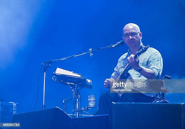 Herbert Vianna from Os Paralamas do Sucesso performs at 2015 Rock in Rio on September 20 2015 in Rio de Janeiro Brazil