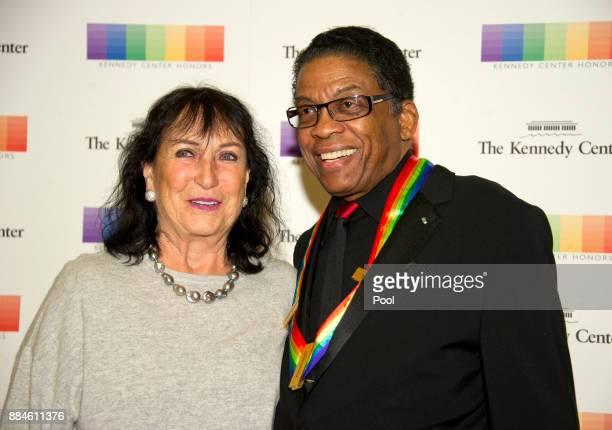 Herbie Hancock mit beruhigener, Ehefrau Gigi Hancock