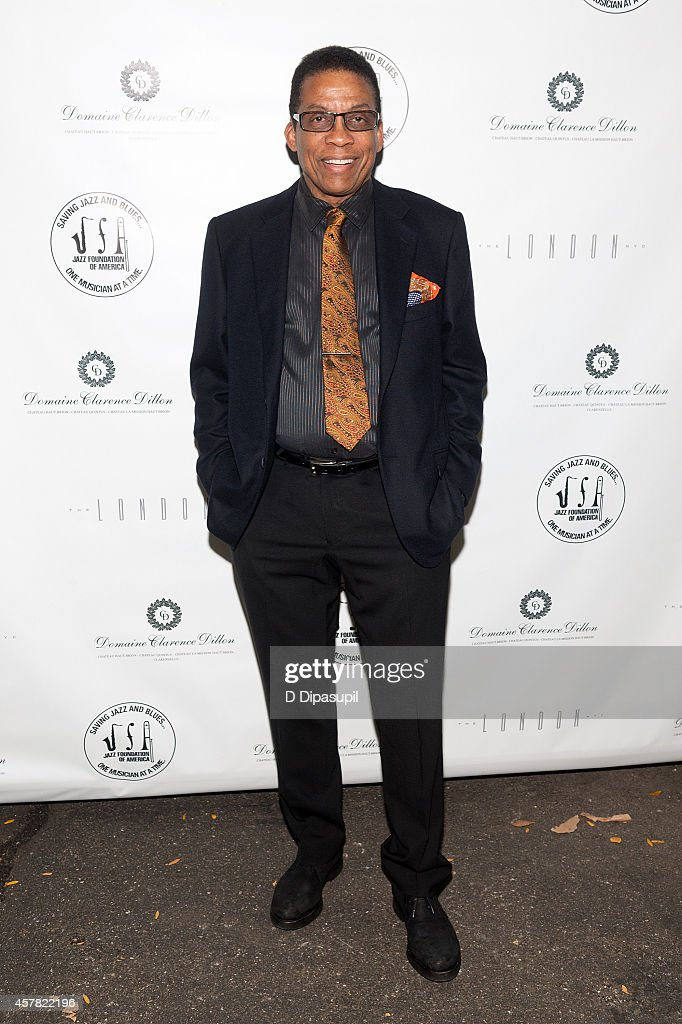 Herbie Hancock attends The Jazz Foundation Of America's 13th Annual 'A Great Night In Harlem' Gala Concert at The Apollo Theater on October 24, 2014 in New York City.