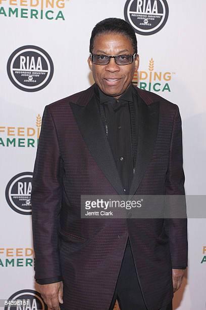 Herbie Hancock attends the RIAA and Feeding America Inauguration Charity Ball at Ibiza on January 20 2009 in Washington DC