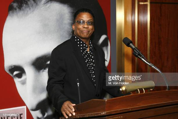 Herbie Hancock during The Thelonious Monk Institute of Jazz Special VIP Reception in Advance of Herbie's World to Benefit Monk Institute Jazz...