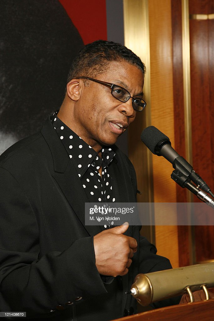 Herbie Hancock during The Thelonious Monk Institute of Jazz Special VIP Reception in Advance of 'Herbie's World' to Benefit Monk Institute Jazz Programs at Weill Recital Hall, Carnegie Hall in New York, New York, United States.