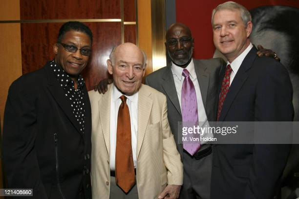 Herbie Hancock George Wein Theonious Monk Jr Tom Carter
