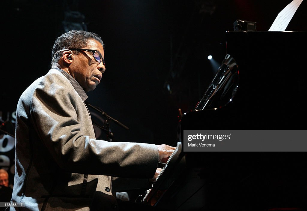 Herbie Hancock performs at Day 3 of the North Sea Jazz Festival at Ahoy on July 14, 2013 in Rotterdam, Netherlands.