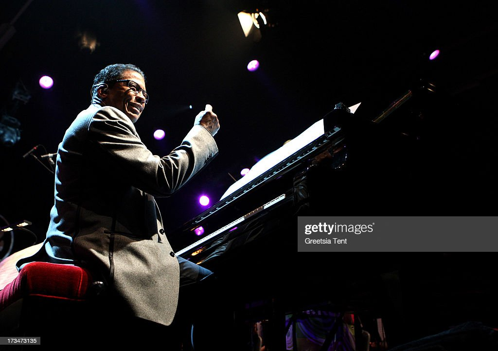 Herbie Hancock performs at day three of the North Sea Jazz Festival at Ahoy on July 14, 2013 in Rotterdam, Netherlands.