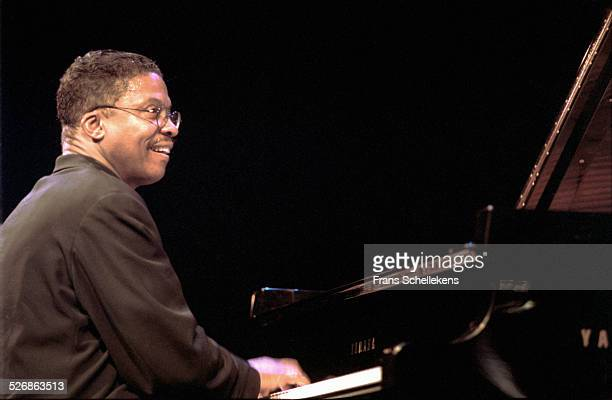 Herbie Hancock piano performs on July 11th 1999 at the North Sea Jazz Festival in the Hague Netherlands