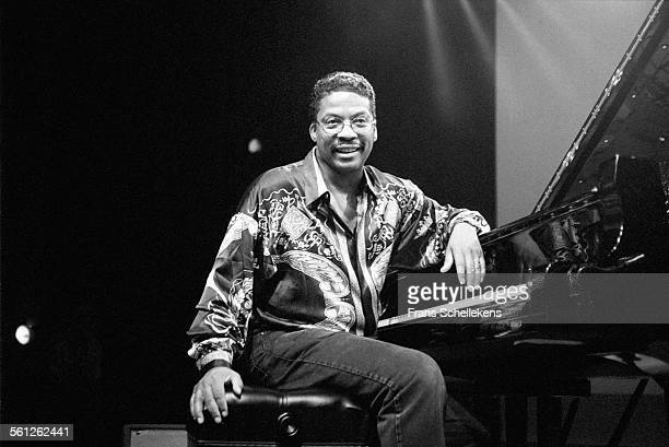 Herbie Hancock, piano, performs on July 14th 1996 at the North Sea Jazz Festival in the Hague, Netherlands.