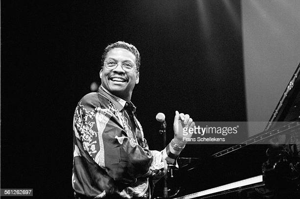 Herbie Hancock piano performs on July 14th 1996 at the North Sea Jazz Festival in the Hague Netherlands