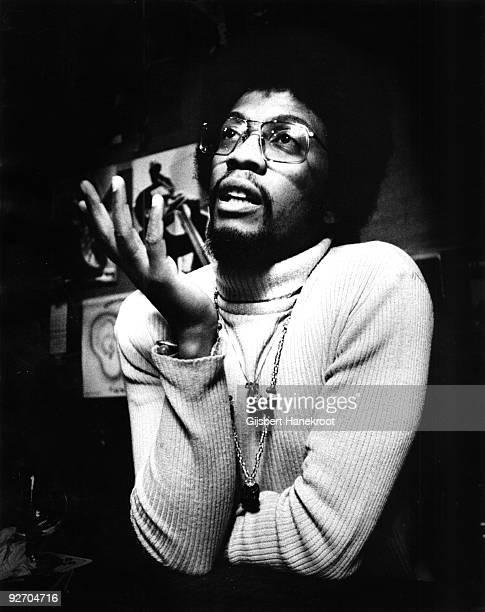 Herbie Hancock posed in Amsterdam Holland in 1975
