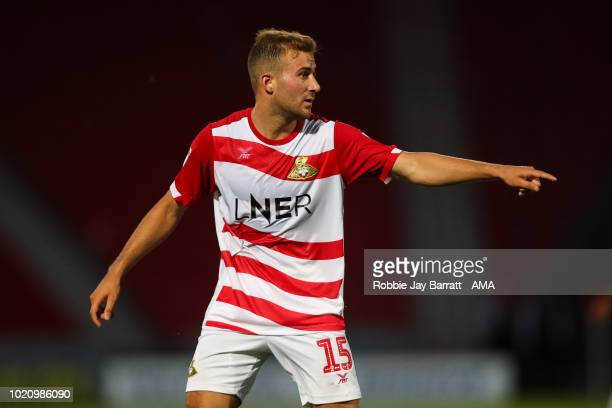 Herbie Kane of Doncaster Rovers during the Sky Bet League One match between Doncaster Rovers and Shrewsbury Town at Keepmoat Stadium on August 21...