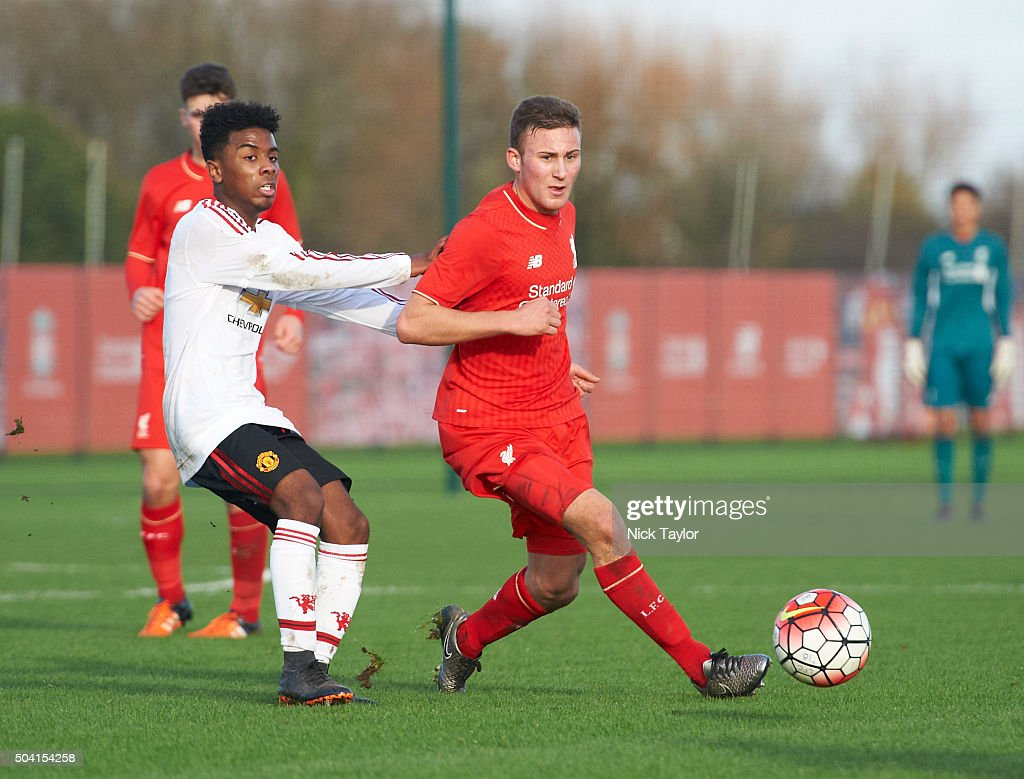 Liverpool v Manchester United: U18 Premier League : News Photo